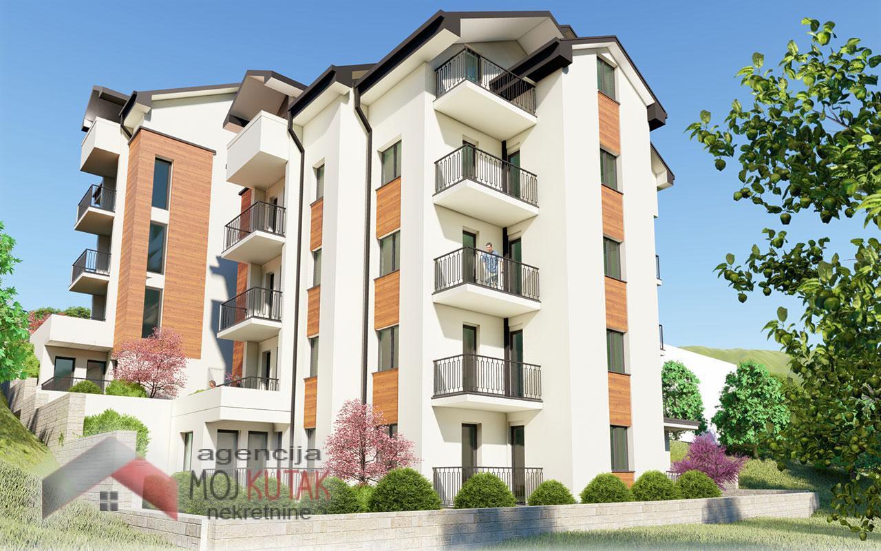 Apartmani Snežnik, Stan br.9 (34,87m2) - Zgrada B
